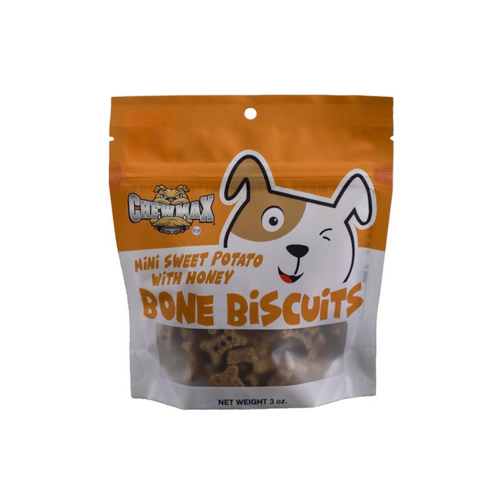 mini Sweet Potato with Honey bone biscuits